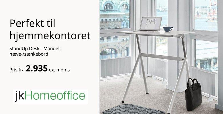 StandUp Desk til hjemmekontoret